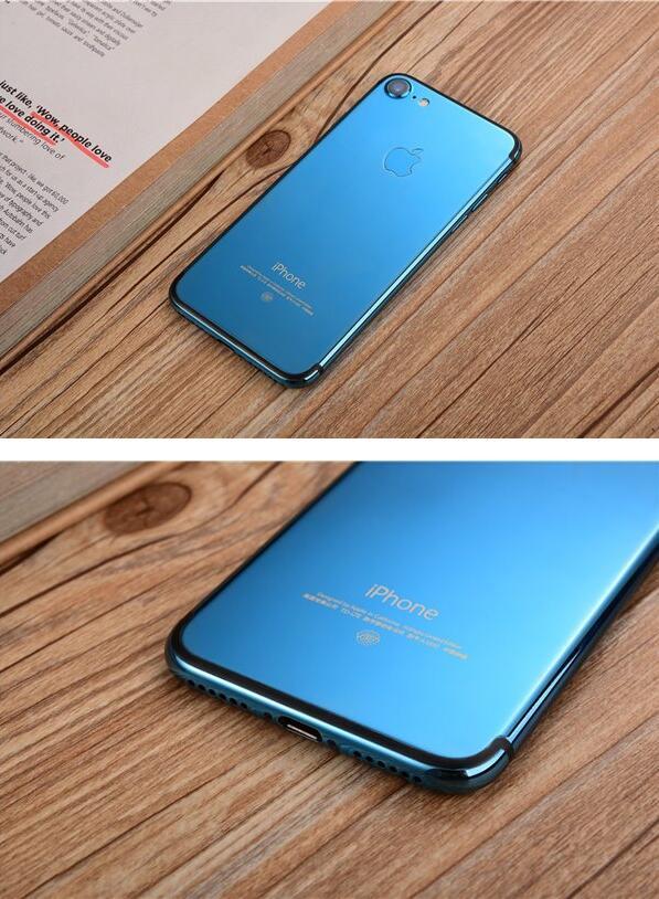 苹果iPhone7/Plus亮蓝色定制版图赏