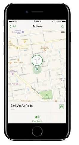 苹果iOS10.3支持查找Airpods:耳机不怕丢