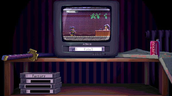 硬派动作游戏《剑豪·零》曝光 重现80年代经典像素风格
