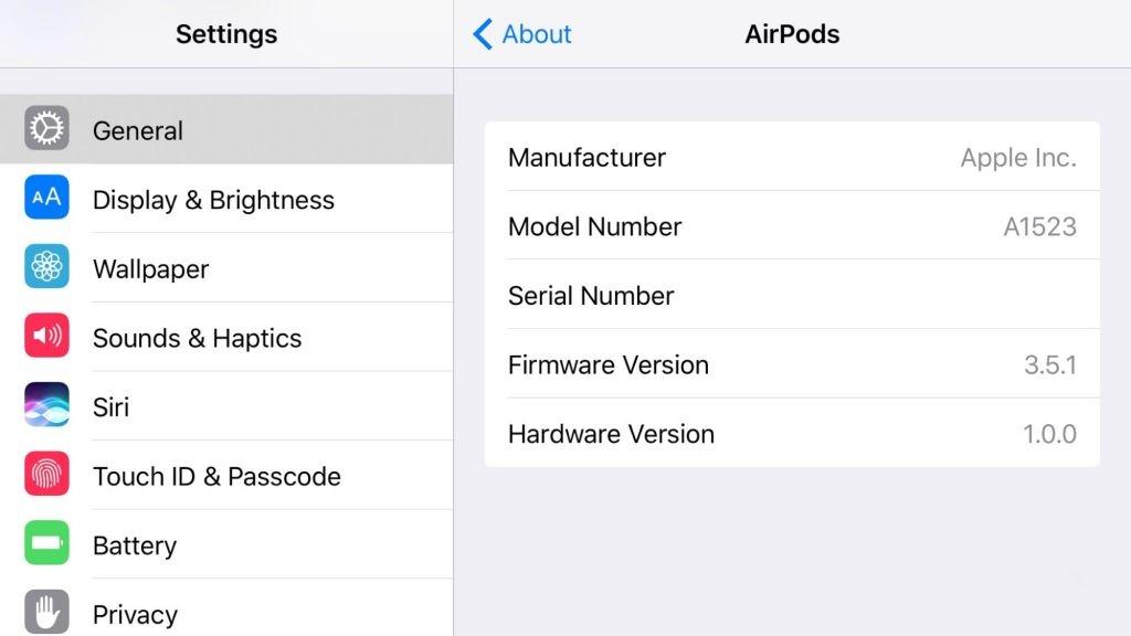 如何查看/更新AirPods的固件版本