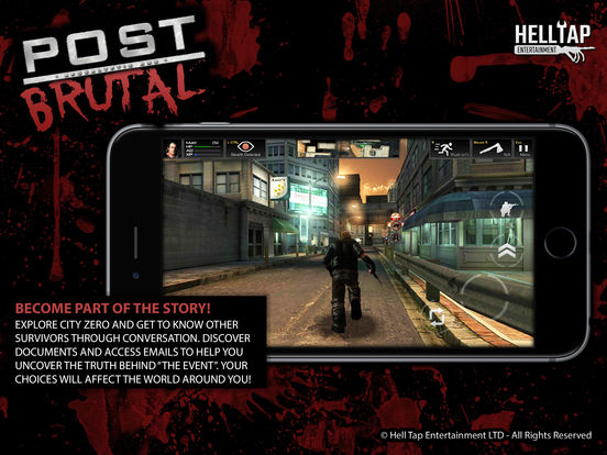 末日游戏《残酷波斯特》上线 组队冲破丧尸围城