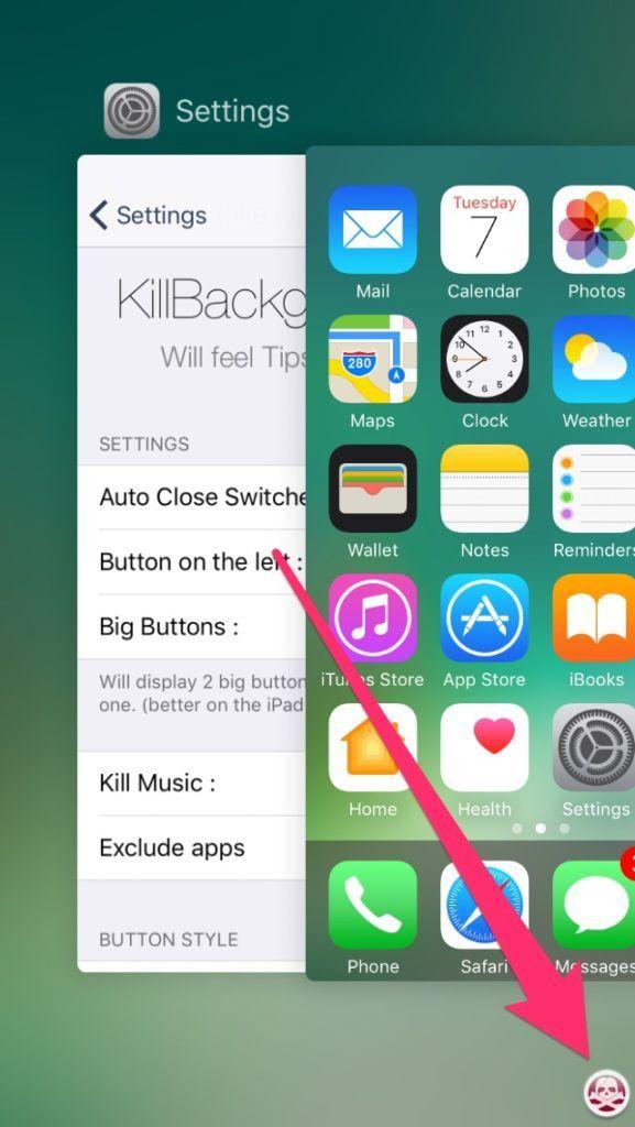KillBackground10:让iOS 10用户一键关闭所有应用