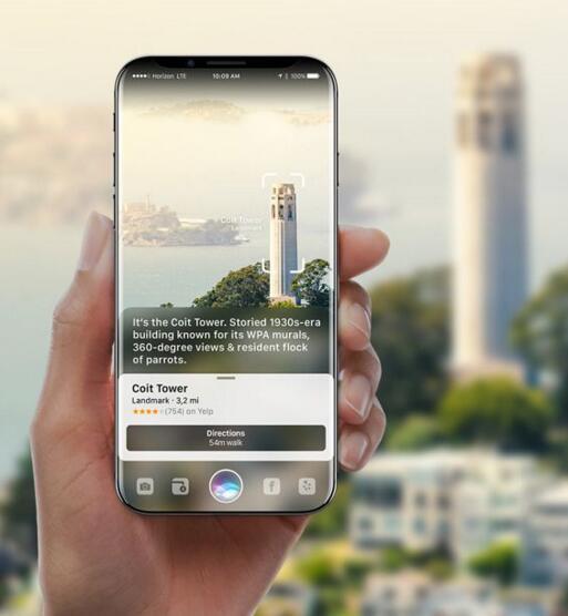 酷炫吧!这便是基于AR和Siri 的iPhone 8概念设计