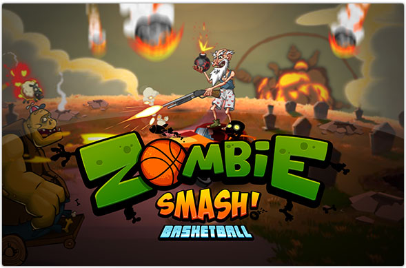 拿起篮球战斗吧!塔防游戏《粉碎僵尸篮球》上架