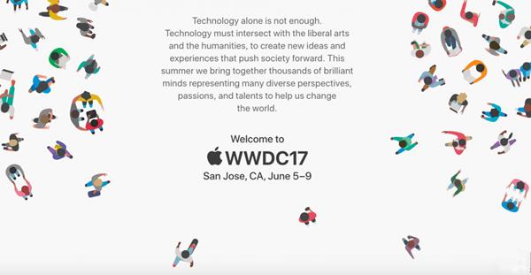WWDC 2017专属页现身苹果官网醒目位置