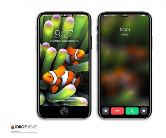 最新iPhone 8渲染图: 功能区域该怎么实现?