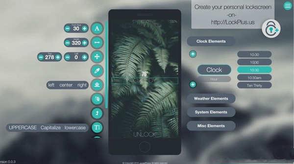 越狱插件LockPlus10:可自定义iPhone 锁屏界面外观