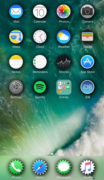 插件SpringToolz:可改变主屏幕图标形状