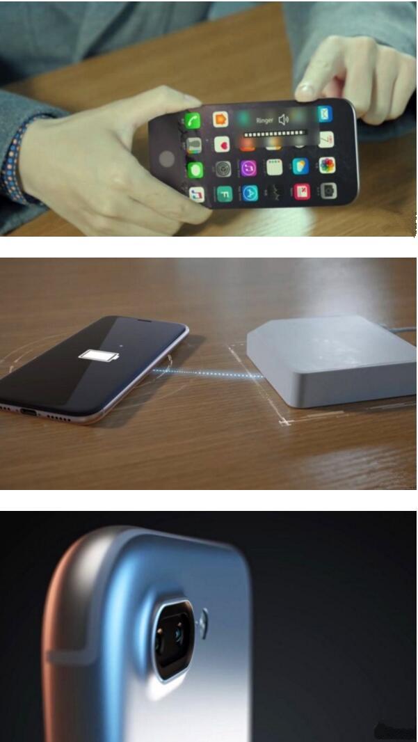 这iPhone 8概念设计好玩 它仿佛是变色龙