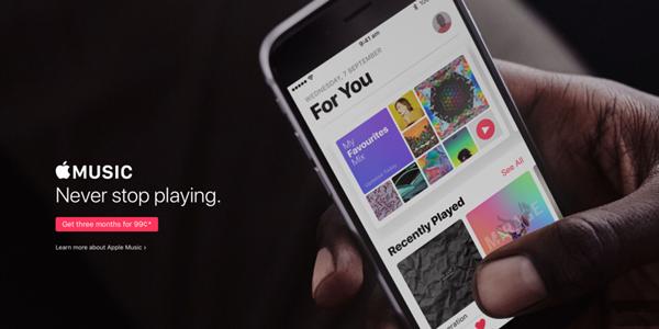 在这些国家 Apple Music没有免费试用了