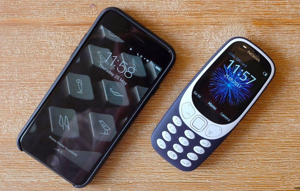 诺基亚3310与iPhone 7拍照大比拼