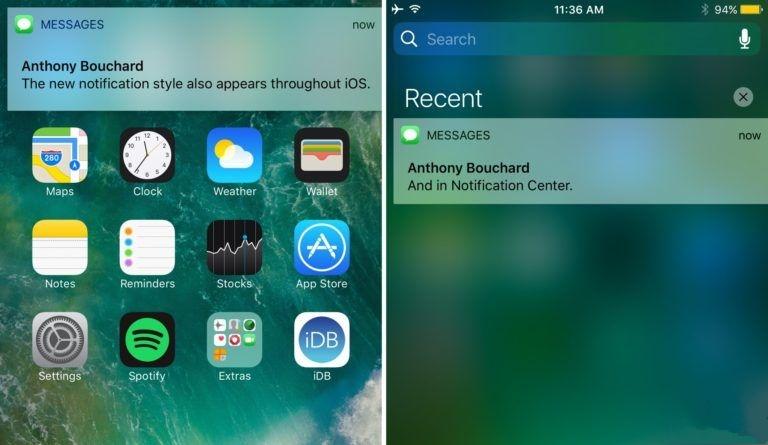 插件 Classic:回到旧式iOS通知横幅
