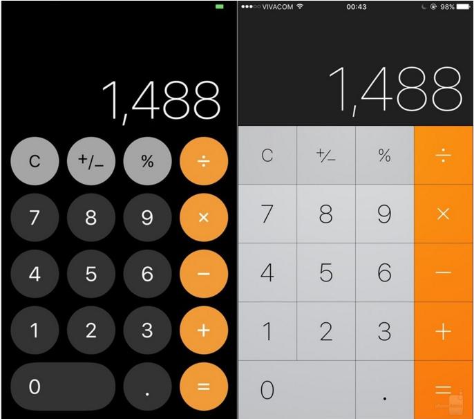 一组图带你了解iOS 11 UI设计变化有多大