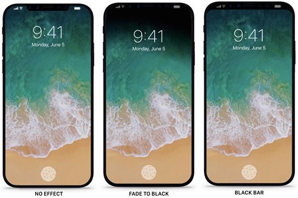 苹果iPhone8运行iOS11概念是这样子的