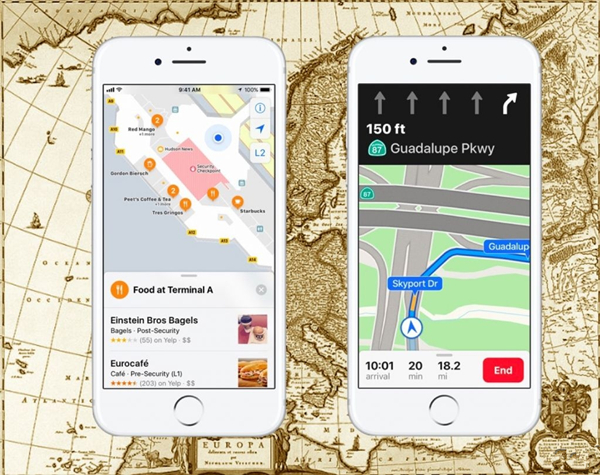 iOS 11为苹果地图带来了哪些改进?