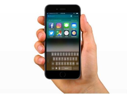 iOS 11 单手键盘的开启及相关注意事项