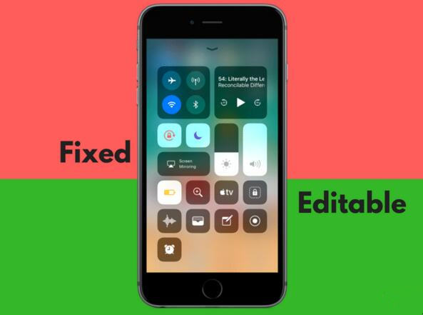 iOS 11全新控制中心特性汇总