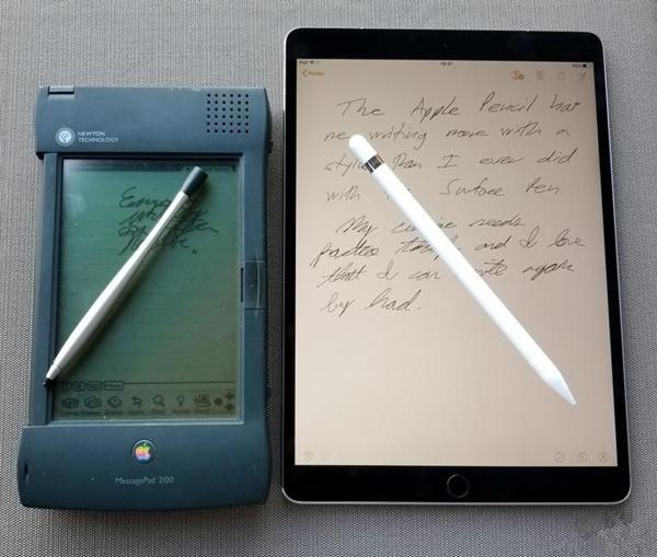 我曾嘲笑Apple Pencil 现在工作离不开它