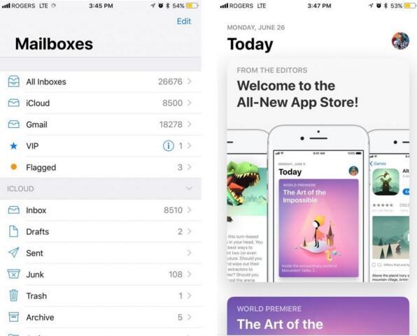 你对新的 iOS 11 及其设计有什么看法吗?