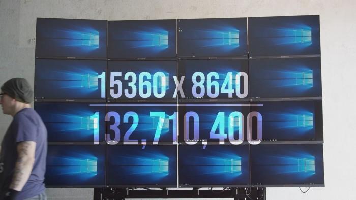 非常震撼 1.32亿像素 震撼的16K分辨率玩游戏是什么画风
