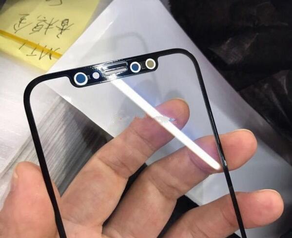 """这就是""""iPhone 8""""的屏幕玻璃?边框超窄"""