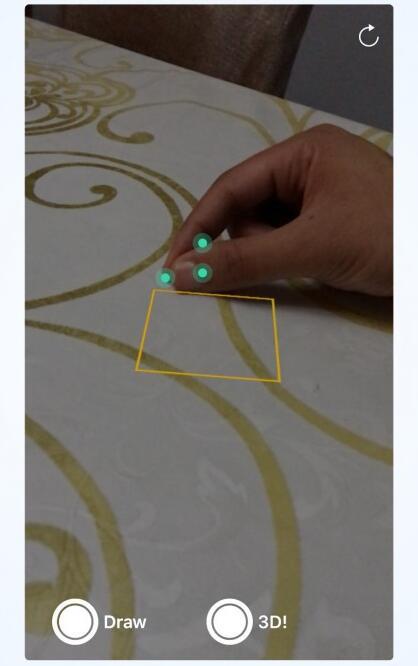 最新苹果iOS11 ARKit演示:3D手指作画