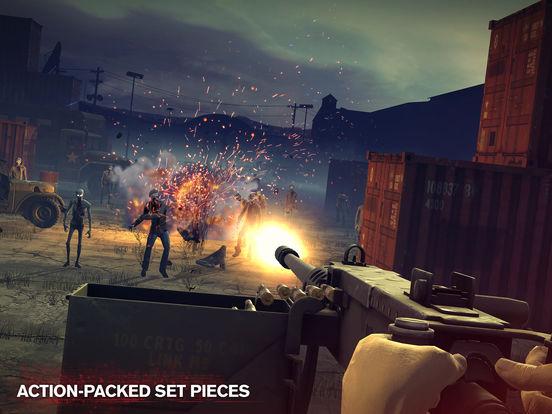跑酷+射击 丧尸题材游戏《勇闯死人谷2》测试上架