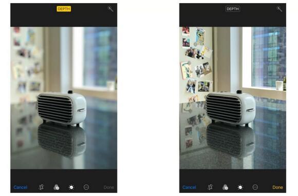 iOS 11中如何取消人像模式的景深效果