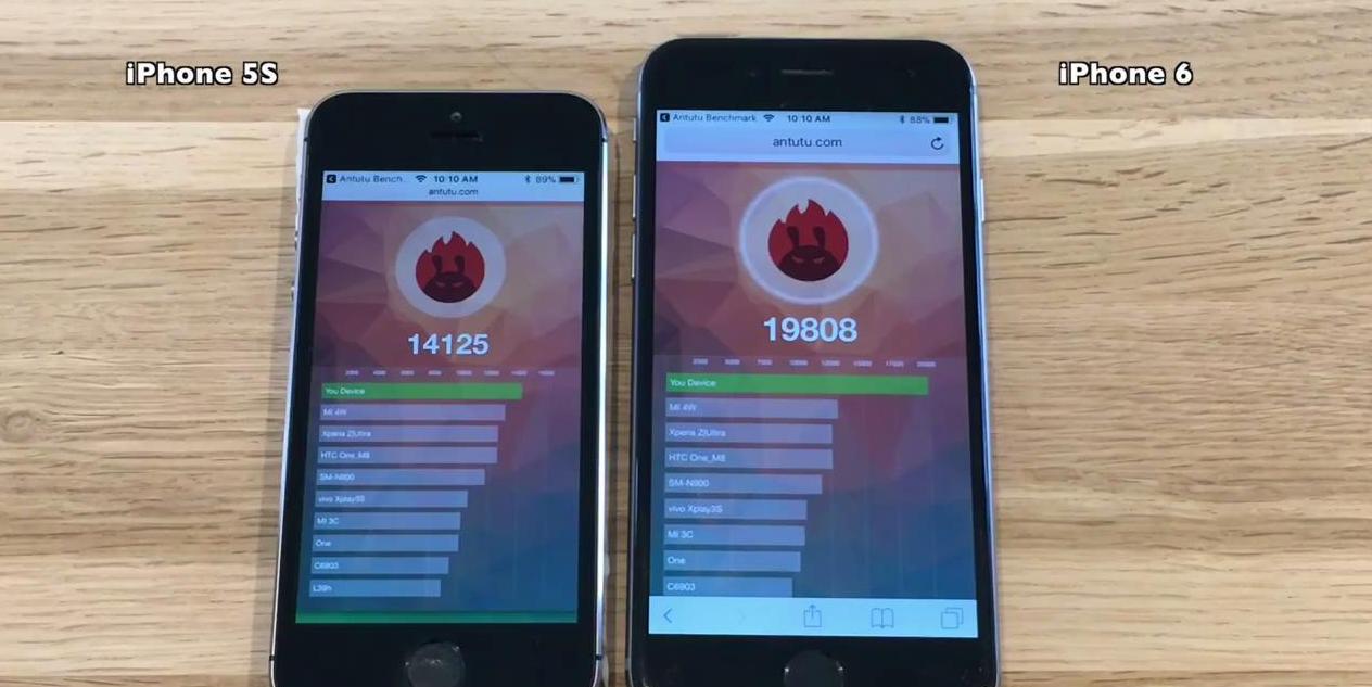 iPhone5S可以升级iOS11吗?iPhone5S运行iOS11对比