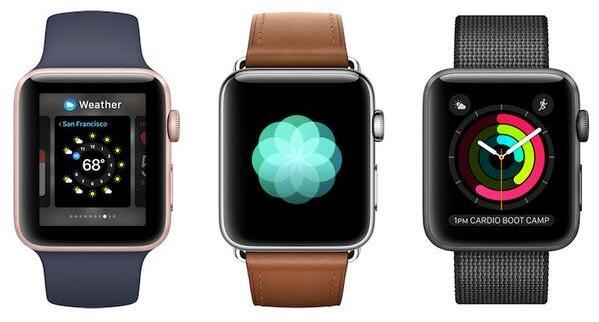 传新一代Apple Watch将于九月与iPhone 8共同亮相
