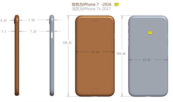就买它了!iPhone 7S设计图流出:玻璃机身