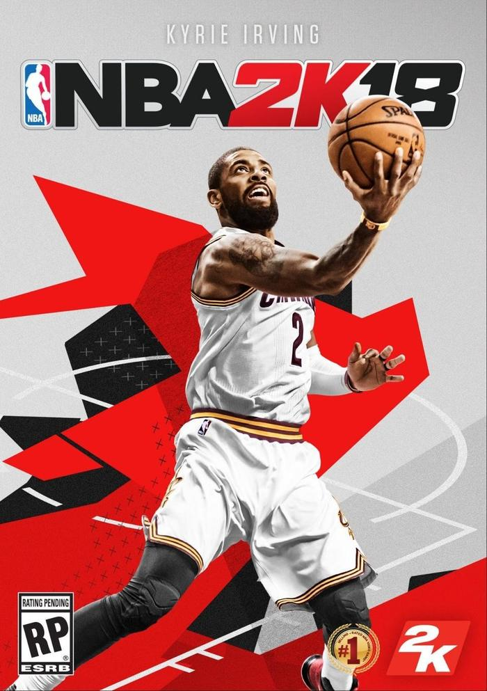措手不及 《NBA 2K18》即将发售,封面球星欧文却转会了