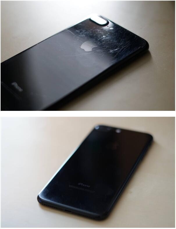 苹果iPhone 7 Plus亮黑版裸机使用一年后…