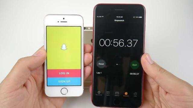 iPhone7和5S、6、SE运行iOS11速度对比