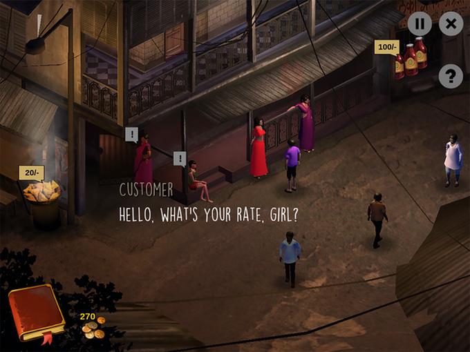 【翻译团】这款女性与人贩子智斗的游戏,在kickstarter众筹成功