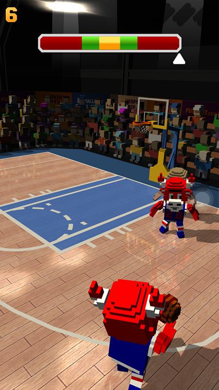 《方块篮球》评测:玩法简单易上手,轻松有趣消磨时间
