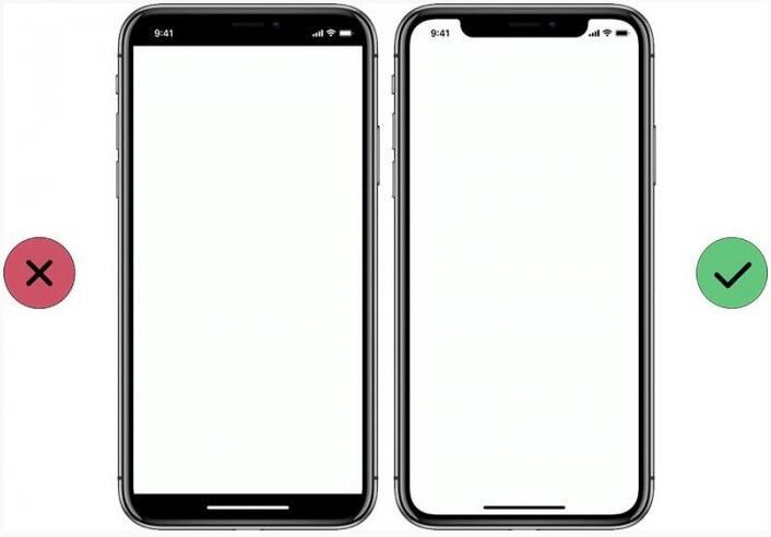 """iPhone X额头上的""""刘海""""将怎么影响UI设计"""