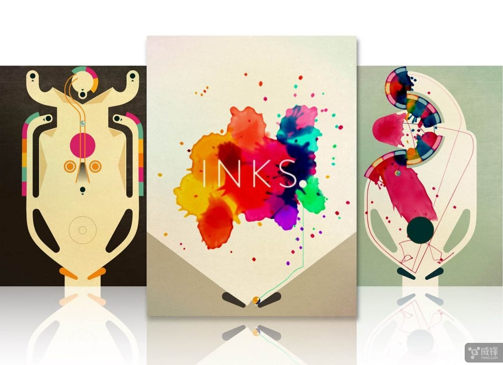 值得一玩:苹果2016设计大奖得主《INKS》首次限时免费