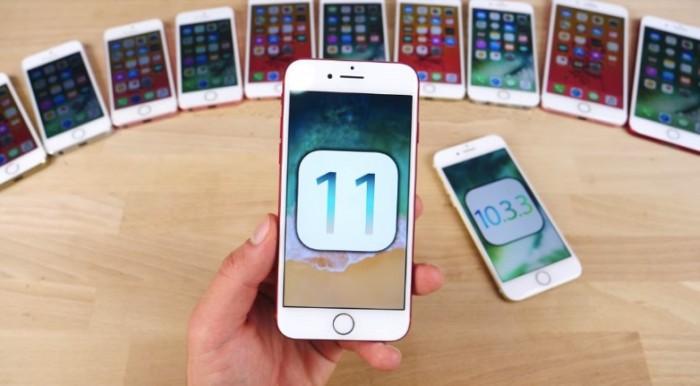 犹豫是否升级iOS 11?7款iPhone升级前后速度对比