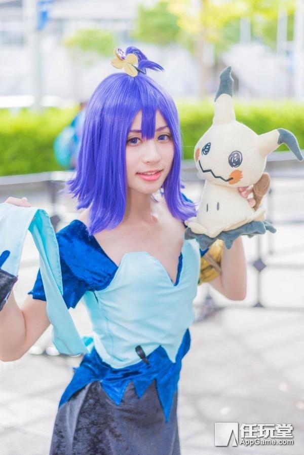 甜美萝莉冷艳御姐齐聚 东京电玩展2017萌妹Cosplay图赏