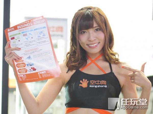 大波妹子来袭!东京电玩展2017美女Showgirl图赏