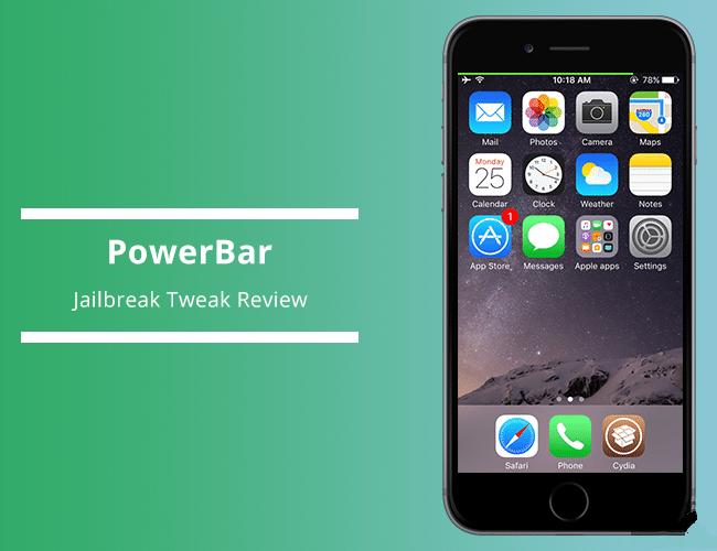 这款插件可给 iOS 状态栏加入一个电池条