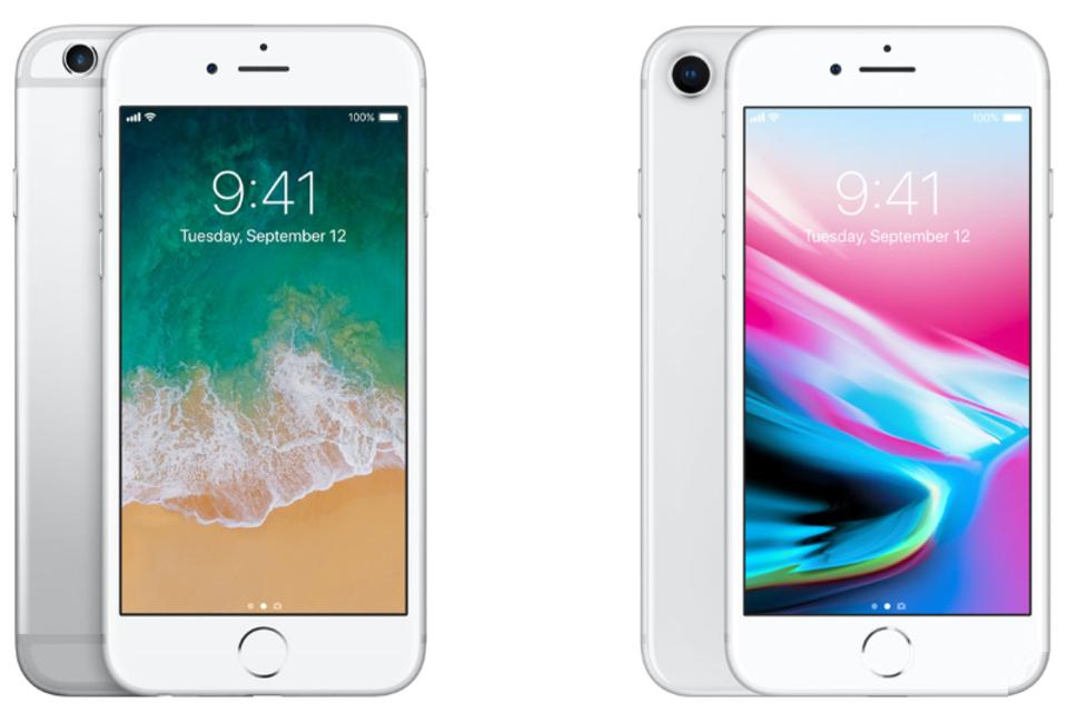 iPhone 8对比iPhone 6s: 隔代提升有多大?