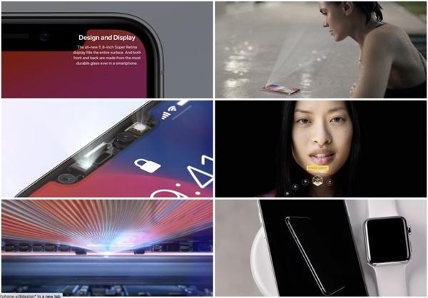 iPhone X占满苹果官网主页:心疼iPhone 8
