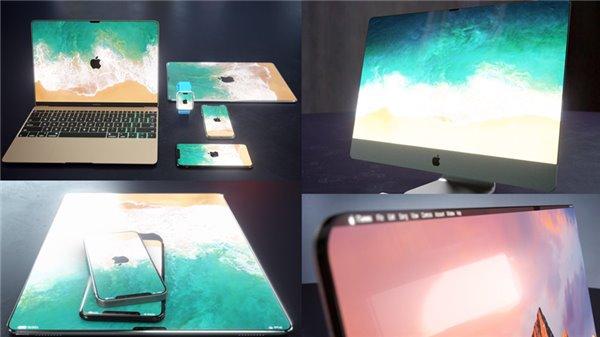 当所有苹果设备都采用无边框设计之后……