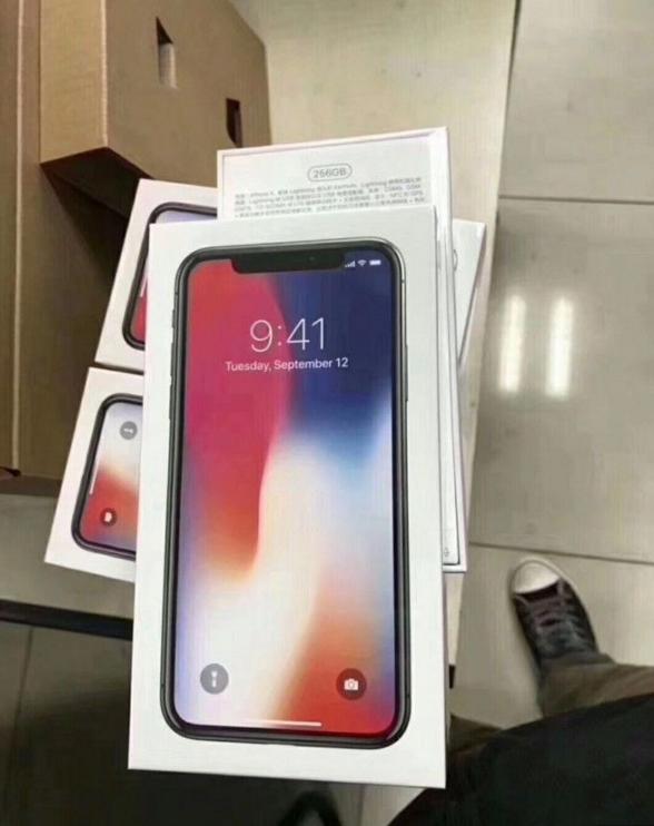 抢到首批 iPhone X 的朋友,准备好收快递吧