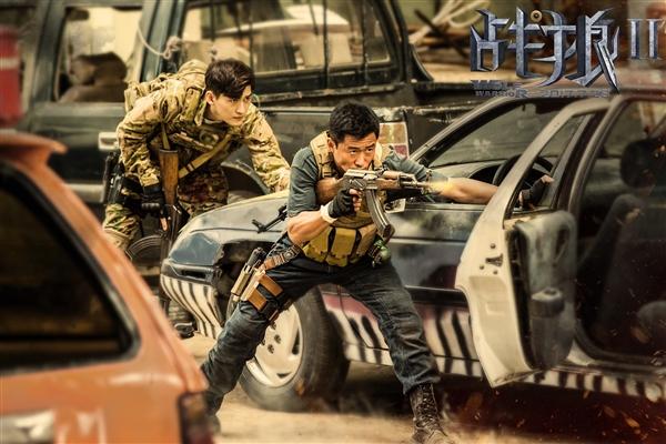 大获全胜 !《战狼2》56.83亿票房收官,11月3日登陆网络平台