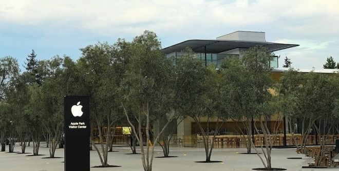 Apple Park访客中心据说年底开放 耗资过亿