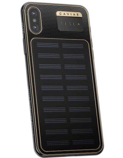 这款iPhone X价格接近三万!竟可以太阳能充电