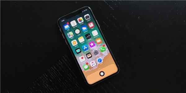 苹果iPhone X Home键没了?那就虚拟一个吧